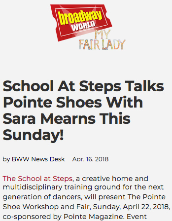 Steps Youth Programs featured in Broadway World